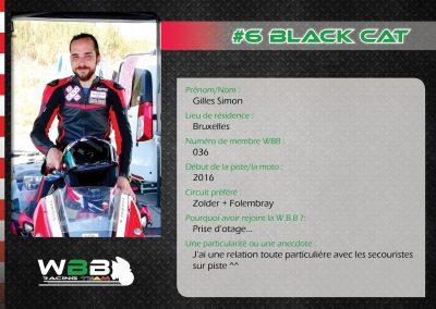#6 BLACK CAT
