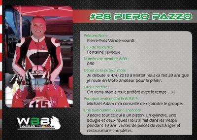 #28 PIERO PAZZO