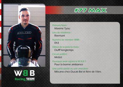 #77 MAX